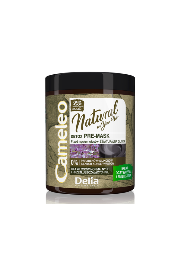Soin avant-shampoing pour cheveux gras Delia Cosmetics 250 ml