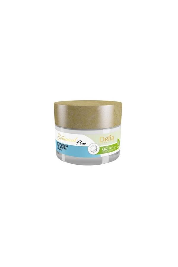 Crème jour et nuit pour un effet naturel Delia cosmetics 50 ml