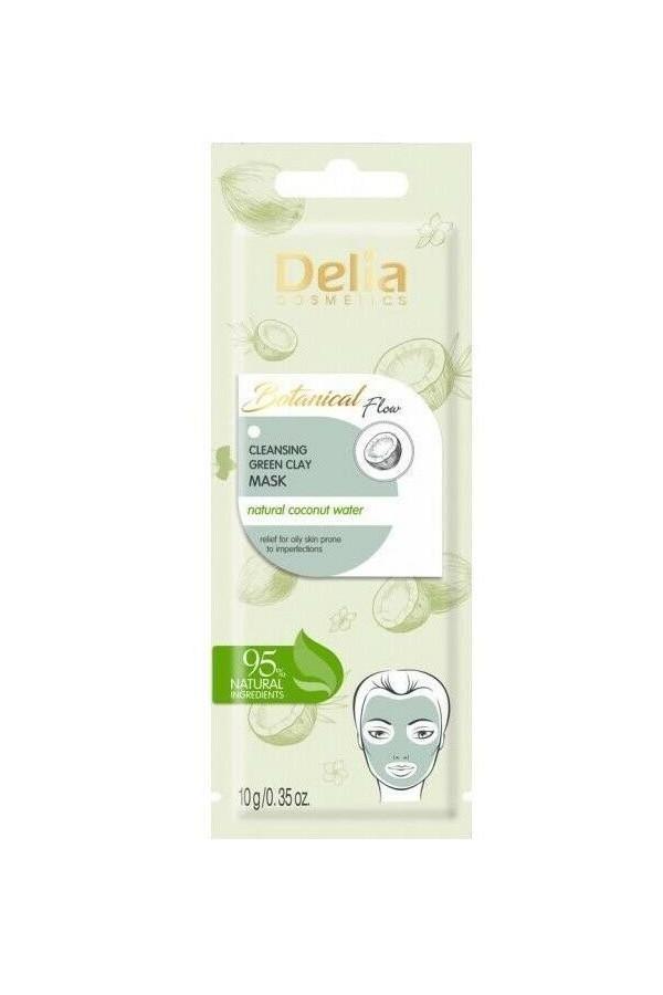 Masque nettoyant à l'argile verte Delia cosmetics 10 g