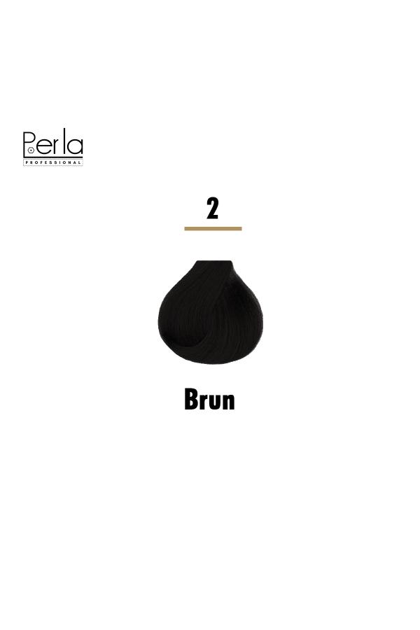 Perla Professional Coloration 100% Protéine et Huile d'argan - 2