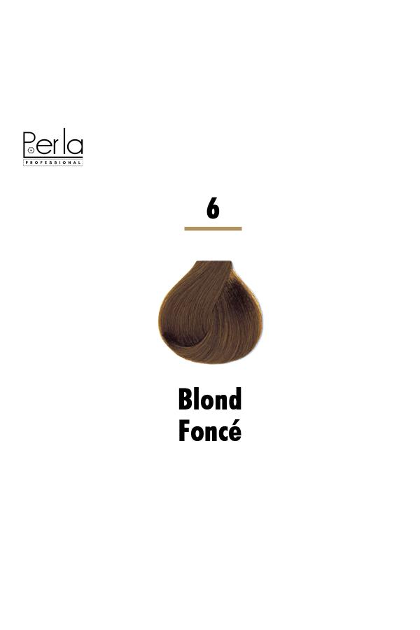 Perla Professional Coloration 100% Protéine et Huile d'argan - 6 + Oxydant 150ml