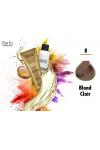 Professional Coloration 100% Protéine et Huile d'argan - 8 + Oxydant 150ml