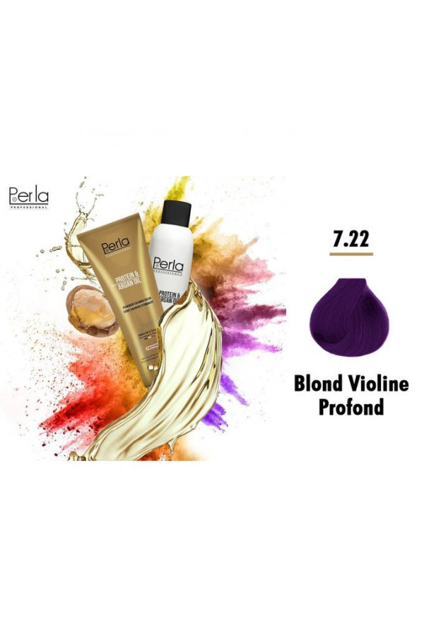 Perla Professional 100% Protéine et Huile d argan - 7.22 + Oxydant 150ml