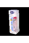CHICCO BIBERON ROSE PLASTIC 250 ML