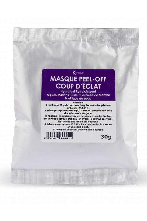 MASQUE PEEL-OFF COUP D'ECLAT 30Gr K-REINE