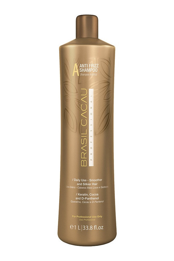 Brasil Cacau - Anti Frizz Shampoo -A- 1L sans sulfate