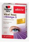 AKTIV VITAL YEUX -OMEGA-3 DOPPELHERZ
