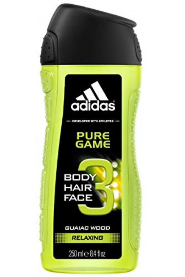 Adidas PURE GAME Gel Douche 250 ml